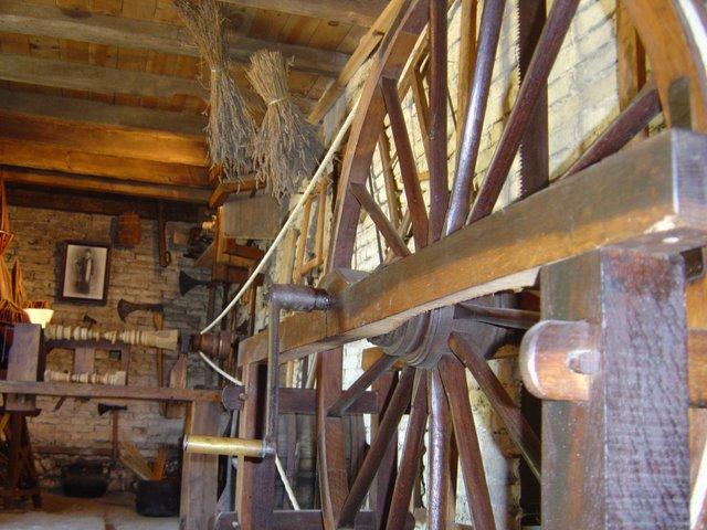 Lieu de réparations diverses et Forge. Musee